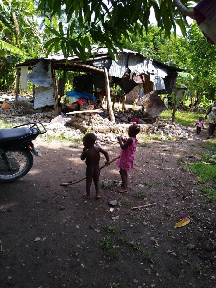 hurricane damange haiti